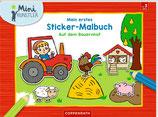 Mein 1. Sticker-Malbuch - Auf dem Bauernhof
