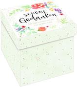 Sprüchebox: Schöne Gedanken - 50 Spruchkärtchen