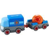 Kullerbü – Batterie-LKW mit Anhänger