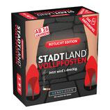 STADT LAND VOLLPFOSTEN – Das Kartenspiel – Rotlicht Edition
