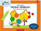 Mein erstes Sticker-Malbuch - mit kunterbunten Punkten