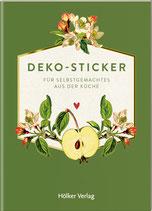 Deko-Sticker, Äpfel (Küchenpapeterie)