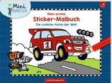 Mein erstes Sticker-Malbuch - Die coolsten Autos der Welt