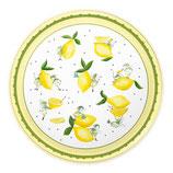 Dekoteller Zitrone
