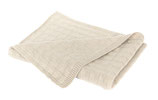 Baby Strickdecke Hygge taupe