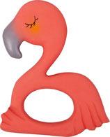 """Beißring aus Naturkautschuk """"Flamingo Frieda"""" BabyGlück"""