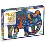 Puzzle Puzz'art: Eléphant