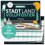 "STADT LAND VOLLPFOSTEN® - JOB EDITION ""Kaffeepause."""