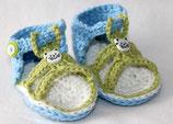 Sandale weisses Kätzchen