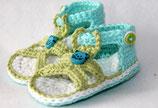 Sandale blaues Kätzchen