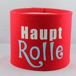 Klopapier-Manchette ★ Haupt Rolle ★ red
