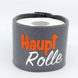 Klopapier-Manchette ★ Haupt Rolle ★ grau
