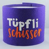 Klopapier-Manchette ★ Tüpfli Schisser ★ violett