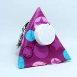 Kaugummi Bag Pyramide ★ pink stars in bubbles ★