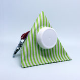 Kaugummi Bag Pyramide ★ green stripes ★