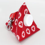 Kaugummi Bag Pyramide ★ red stars in circles ★