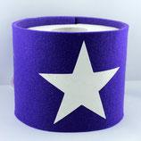 Klopapier-Manchette ★ Stern ★ violett