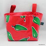 Lenkertasche Lotti-Trotti ★ red hot green chili pepper ★
