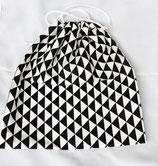 """Innenbeutel zu Kartoffelsack """"Monte Patata"""" ★ Triangels in Black & White ★"""