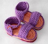 Sandale Lila