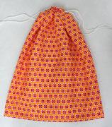 """Innenbeutel zu Kartoffelsack """"Monte Patata"""" ★ orange mit Blüten ★"""