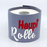 Klopapier-Manchette ★ Haupt Rolle ★ hellgrau