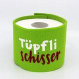 Klopapier-Manchette ★ Tüpfli Schisser ★ lemon