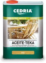 ACEITE DE TEKA CEDRIA