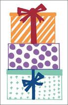 4 Geschenkanhänger Geschenke