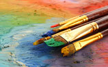 Pittura ad olio e acquerello