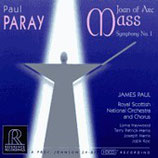 Paul Paray Joan of Arc Mass/ Symphony No. 1 Reference Recordings RR-CD