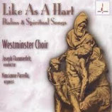 Like as a Hart Psalms & Spiritual Songs Chesky CD138