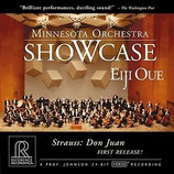 Eiji Oue Minnesota Orchestra Showcase Reference Recordigs RR-907CD