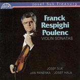 Franck Respighi Poulenc Violin Sonatas JST 11 0710-2