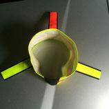 ZanTex Signalhalsung mit drei Fahnen (Schwedenhalsung)