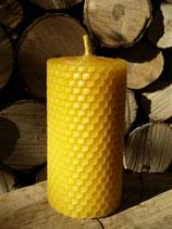handgerollte Bienenwachskerze aus 100% Bienenwachs (2 Varianten s.u.)