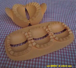 """Moule « Chaussons Party » + Moule """"Tri Chaussons Party"""" Tupperware"""