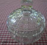 Bonbonnière – Drageoir ancienne en cristal « PORTIEUX »