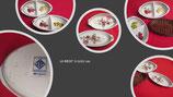 Plats à gratin Porcelaine « Le Terrine Botaniche » Tognana