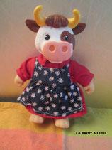 """FIGURINE """"Maman vache"""" Copains de la Ferme"""