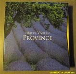 """Coffret 2 Livres """"L'Art de vivre en Provence"""""""