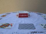 CENDRIER Publicitaire « TUBORG » en Opalex