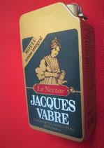 Briquet Boite publicitaire vintage Jacques Vabre