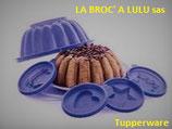 Moule à Charlotte D029 Violet Tupperware