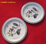 Moules à Tartes Porcelaine « Le Terrine Botaniche » Tognana