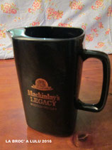 Pichet à eau faience pour Whisky Mackinlay's