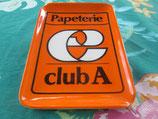 """Ramasse-Monnaie Publicitaire vintage Mélamine """"Club A"""""""