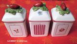 3 Pots marmelade ou confiture Villeroy & Boch Mle « Petite Fleur Charm »