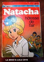 LIVRE BD – NATACHA Hôtesse de l'air