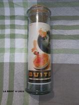 BOCAL Publicitaire en verre sérigraphié Vintage
